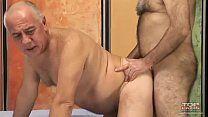 Coroas gays mostrando como fazer um sexo gostoso
