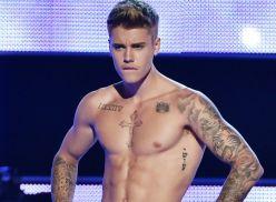 Fotos do Justin Bieber sem camisa