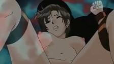Escena anime jovencita de chocho caliente