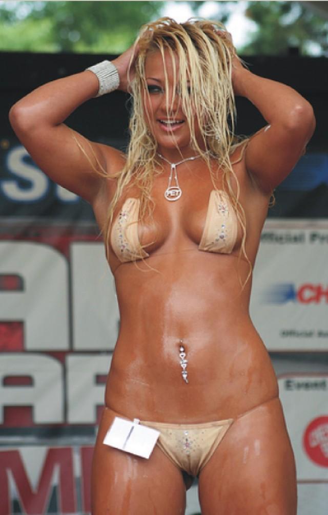 Video contest hot bikini