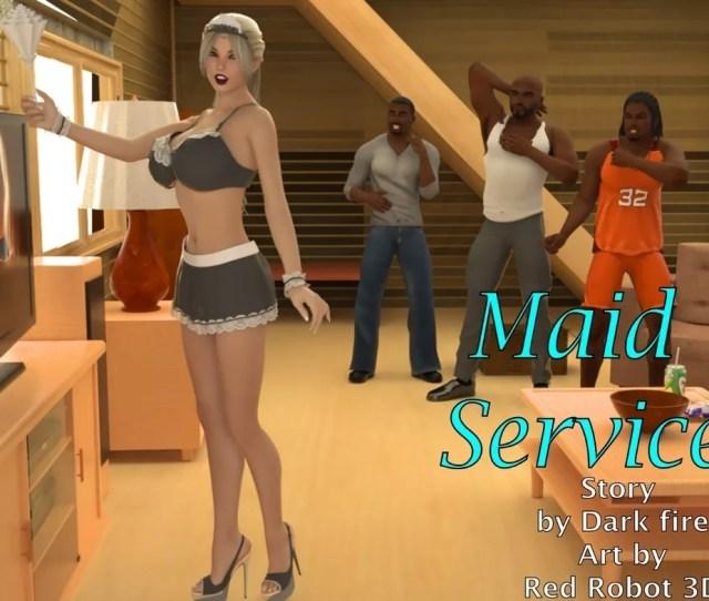 Blacknwhitecomics Maid Service