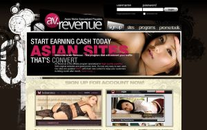 AV Revenue - Best Porn Affiliate Network