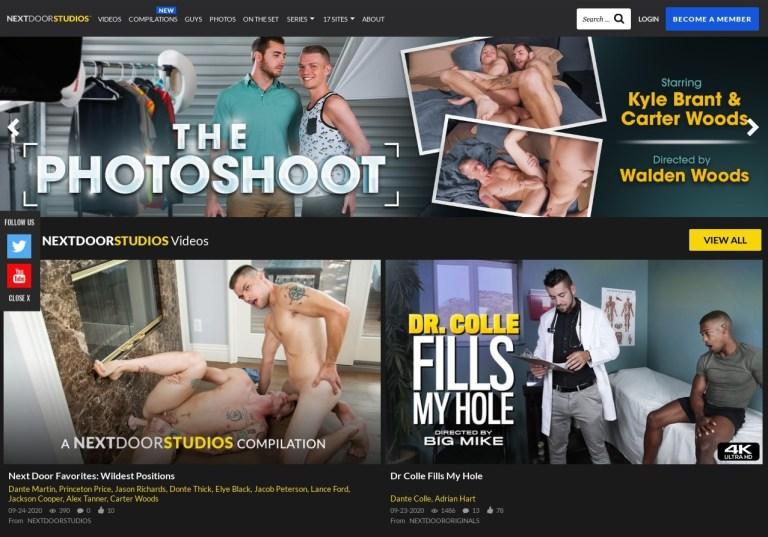NextDoorStudios - Best Premium Gay Porn Sites