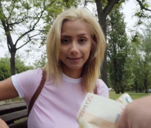 Cute Blonde Veronica Enjoy In Public Sex