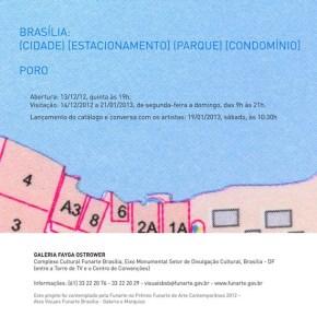 Exposição do Poro faz abordagem poética de Brasília