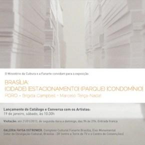 Lançamento do catálogo da exposição do Poro na Funarte de Brasília