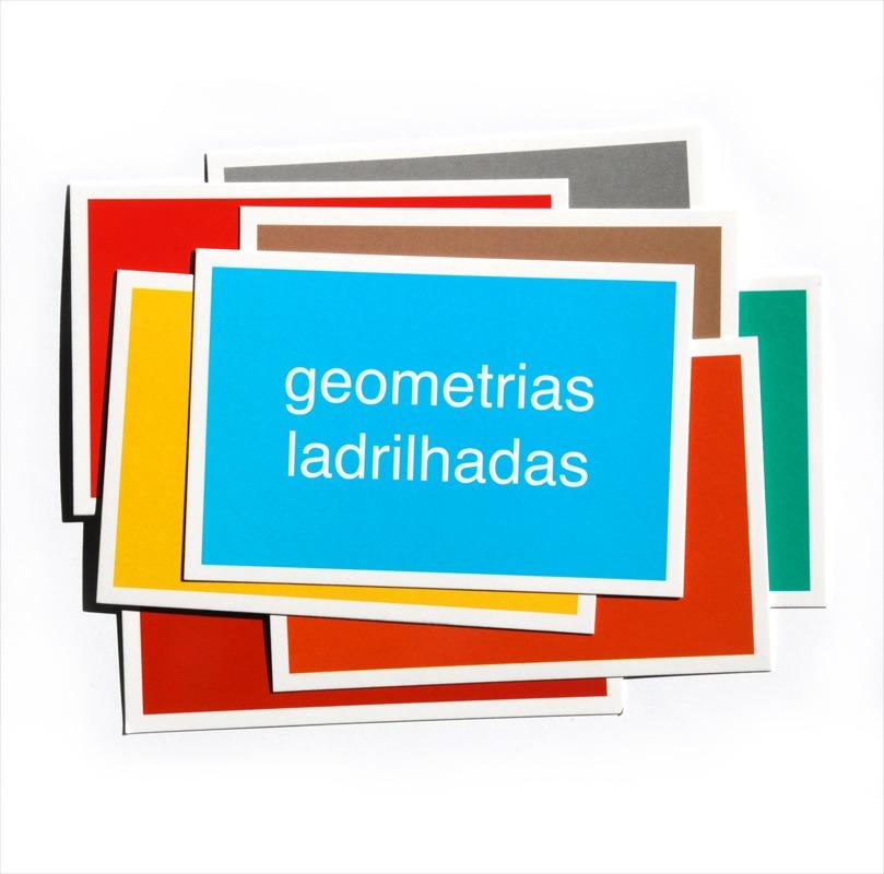 Cartão Postal - Brasília - Geometrias ladrilhadas
