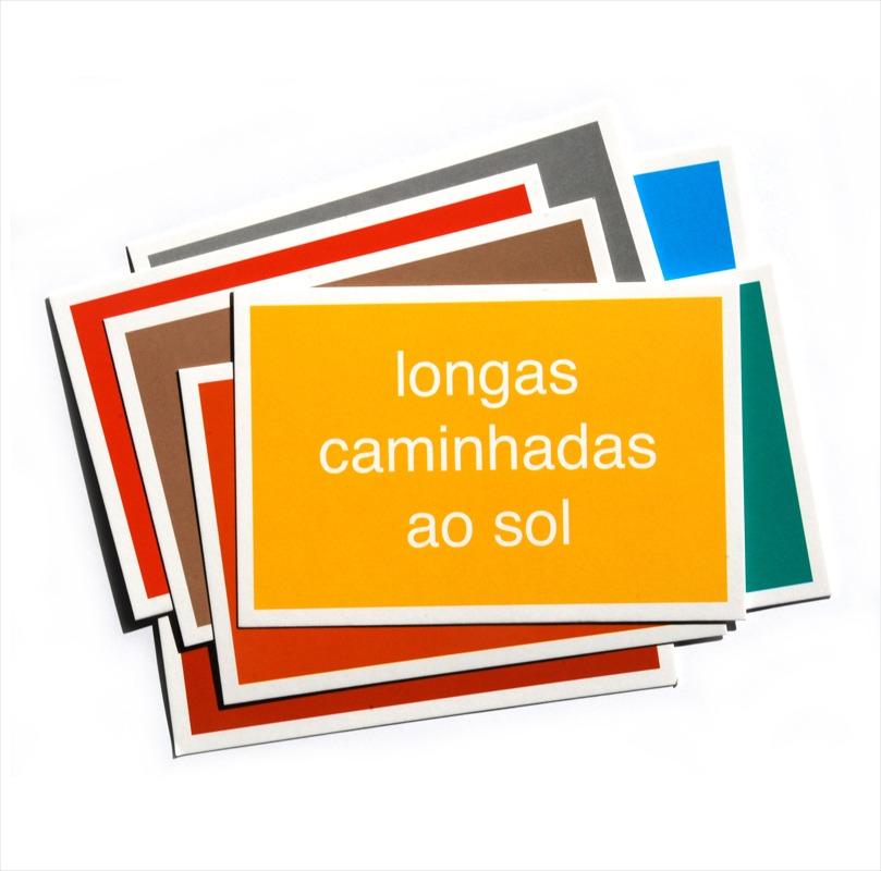 Cartão Postal - Brasília - Longas caminhadas ao sol