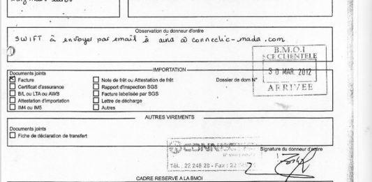 Les virements bancaires sont TOUS signés par RANARISON Tsilavo NEXTHOPE - Home