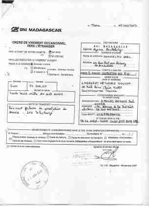 2012 virements bancaires tous signés par RANARISON Tsilavo 17 min - D'après l'article 1598 du code civil malgache : Tout ce qui est dans le commerce, peut être vendu SAUF pour les magistrats malgaches acquis à la cause RANARISON Tsilavo