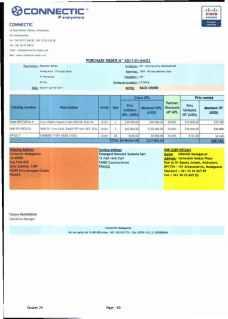 RANARISON Tsilavo ont signé les bons de commande de EMERGENT pour WESTCON Africa Page20 - En février 2009, RANARISON Tsilavo établit le premier bon de commande des produits CISCO  achetés à la société WESTCON Africa COMSTOR par EMERGENT NETWORK