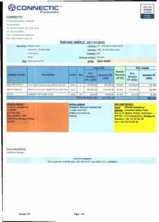 RANARISON Tsilavo ont signé les bons de commande de EMERGENT pour WESTCON Africa Page20 - Ce n'est qu'en septembre 2012, que RANARISON Tsilavo reçoit la confirmation que la société française EMERGENT NETWORK appartient exclusivement à Solo