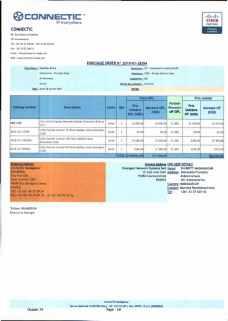 RANARISON Tsilavo ont signé les bons de commande de EMERGENT pour WESTCON Africa Page8 - Les bons de commande des produits CISCO achetés chez WESTCON COMSTOR par EMERGENT NETWORK pour CONNECTIC sont signés par RANARISON Tsilavo
