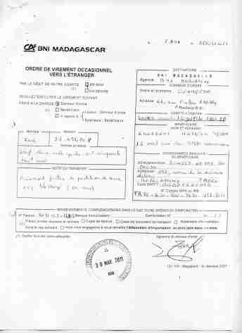 Virements 2011 pour EMERGENT signé par RANARISON Tsilavo 6 min - En 2011, RANARISON Tsilavo a signé TOUS les ordres de virements bancaires de CONNECTIC Madagascar  vers EMERGENT