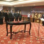 Gubernur Maluku Utara Lantik Sejumlah Pimpinan SKPD. Muka Lama Banyak Parkir