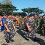 Lantamal IX Ambon, Apel Gelar Pasukan Latihan Operasi Penanggulangan Bencana Alam
