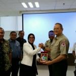 DPRD Kota Ambon Berkunjung ke Graha BNPB Jakarta