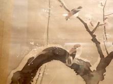"""Le 12ème mois (détail) - Sakai Hōitsu - Exposition """"Le Japon au fil des saisons"""""""