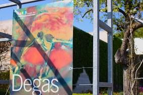 """Givrent - affiche de l'exposition """"Degas, un peintre impressionniste ?"""" - avril 2015"""