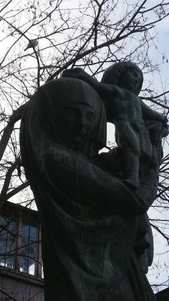 Vierge à l'enfant, Bourdelle- Musée Bourdelle