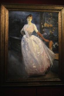 Portrait de Madame Roger Jourdan (1885)- Albert Besnard