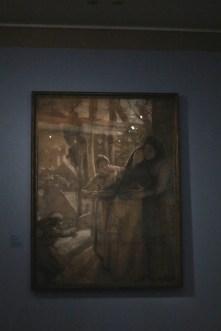 """La convalescence"" - 1883 - Albert Besnard"