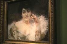 Portrait de Madame Willy de Blumenthal (pastel sur papier) - Albert Besnard
