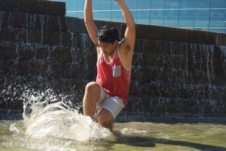 Dancer: Joshua Mora Photographer: Keir Lee-Barber
