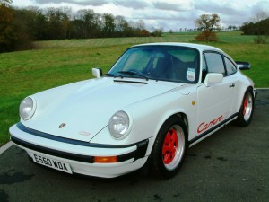 1988 Porsche 911 Carrera Club Sport