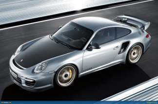 2011 Porsche 911 GT2 RS wallpaper Side angle top view