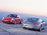 Porsche 997 911 Carrera C4S wallpaper Rear view