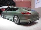 2011 Geneva Motor Show Porsche Panamera Hybrid Rear angle view