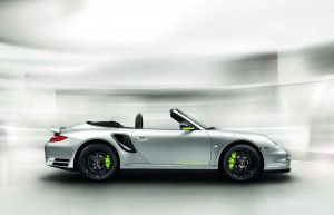 2011 Porsche 911 Turbo Edition 918 spyder Side view