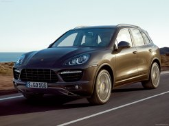 Porsche Cayenne 2011 1600x1200 wallpaper Front angle view