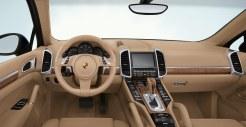 Blue Metallic Porsche Cayenne Diesel 2011 3000x1560 wallpaper Interior