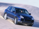 Porsche Cayenne S 2004 1600x1200 wallpaper Front angle view