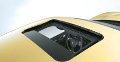 Yellow Porsche Cayenne S 2011 3000x1560 wallpaper Roof