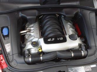 Red Porsche Cayenne S Titanium 2006 1600x1200 wallpaper Engine