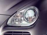 Umber Metallic Porsche Cayenne Turbo S 2006 1600x1200 wallpaper Head light