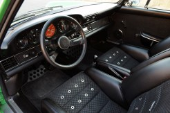 2011 Singer Racing Green Porsche 911 Interior