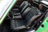 2011 Singer Racing Green Porsche 911 Interior Seats