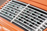 Singer Racing Orange Porsche 911 Engine grill