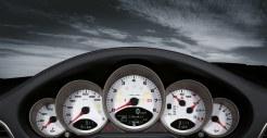 2011 Black Porsche 911 Targa 4S Wallpaper Interior Dashboard