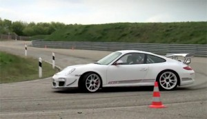 2011 Porsche 911 GT3 RS 4.0 on the Track