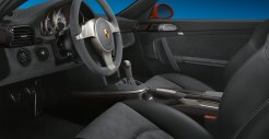2011 Red Porsche 911 GT3 Wallpaper Interior