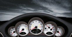 2011 Red Porsche 911 carrera 4S Wallpaper Interior Dashboard
