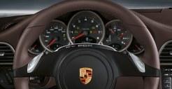 2011 White Porsche 911 Carrera Cabriolet Wallpaper Interior Dashboard
