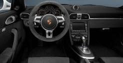 2011 White Porsche 911 Carrera GTS Cabriolet Wallpaper Interior Steering wheel