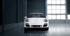 2011 White Porsche 911 Carrera GTS Wallpaper Front view