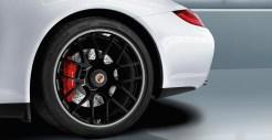 2011 White Porsche 911 Carrera GTS Wallpaper Side view Wheel